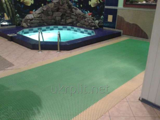 Напольное покрытие Лагуна для аквапарков, бань и саун