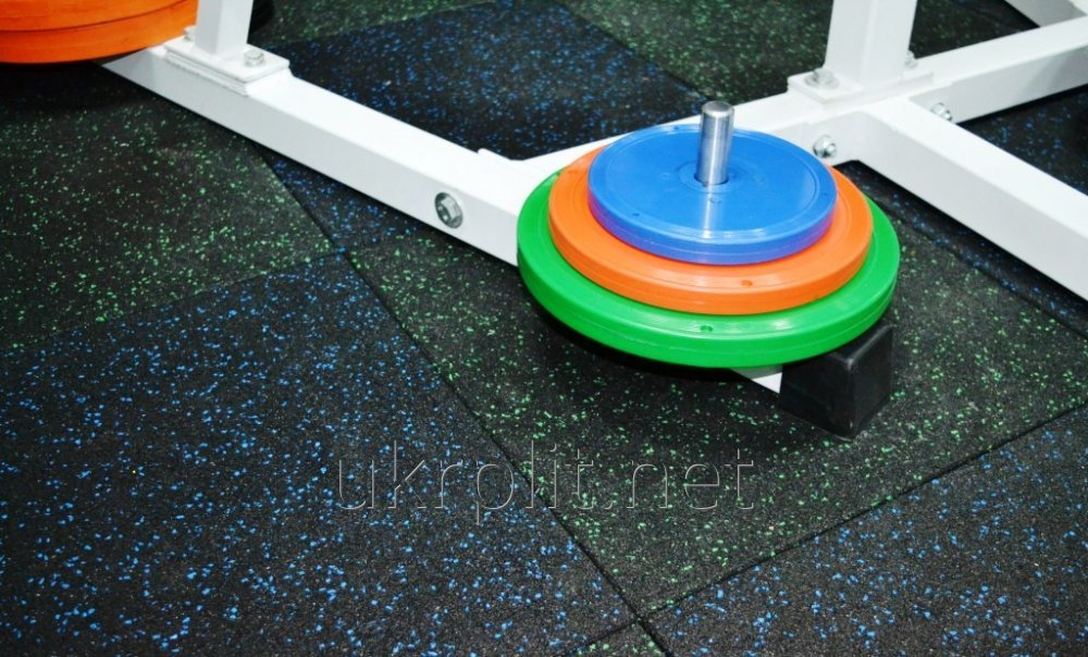 Floor covering for a gym