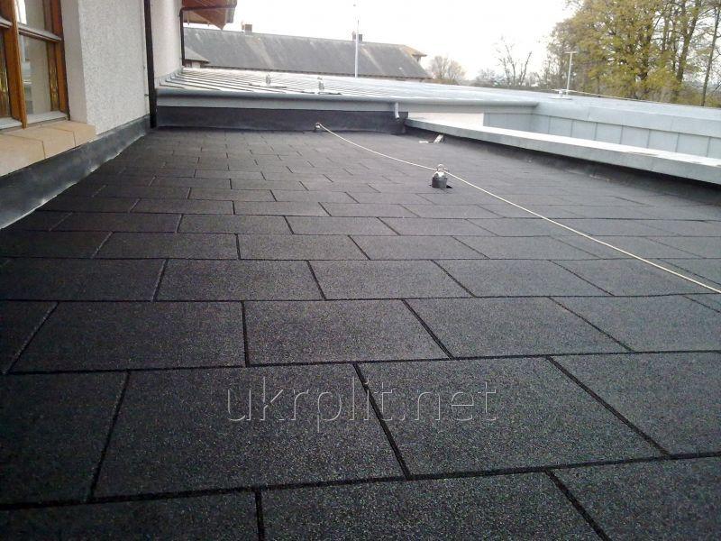 Покрытие УкрПлит противоскользящее резиновое для крыши