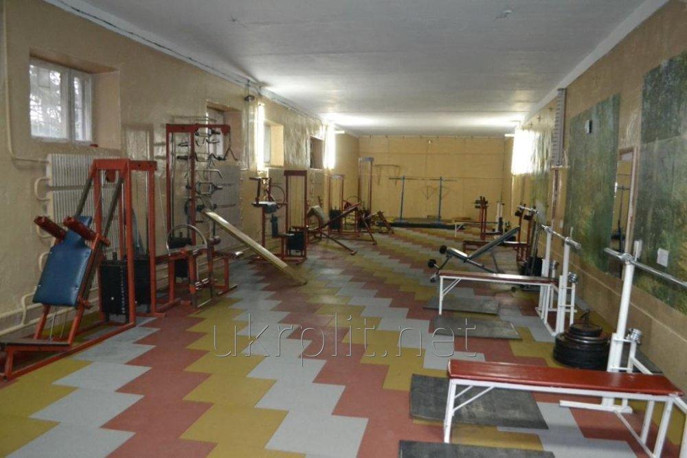 Покрытие напольное резиновое  для тренажерного зала