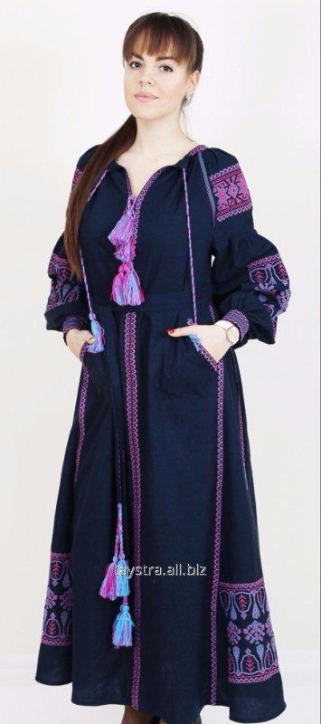 Вышитое платье бохо d1a5f58bd436d