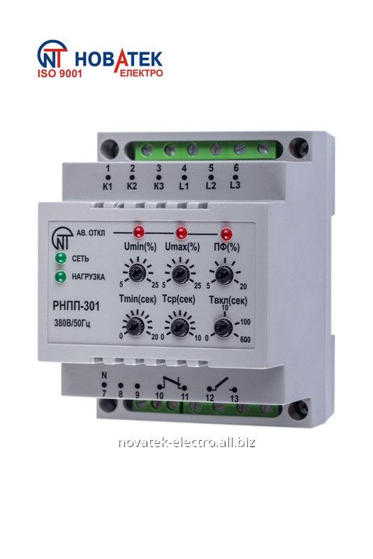 Реле контроля фаз для сетей с изолированной нейтралью