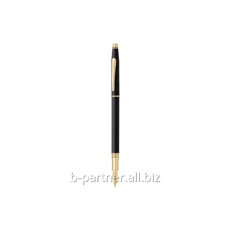 Ручка перьевая Century Classic Black GT FP F