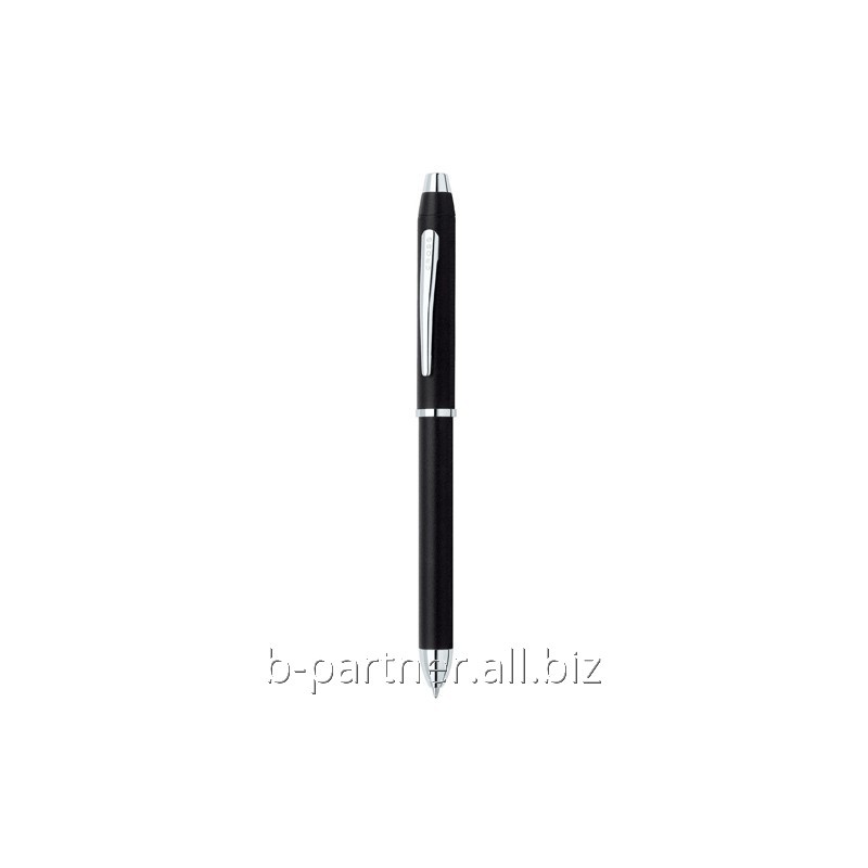 Ручка мульти Tech 3 Black/Chrome BP+BP+PCL