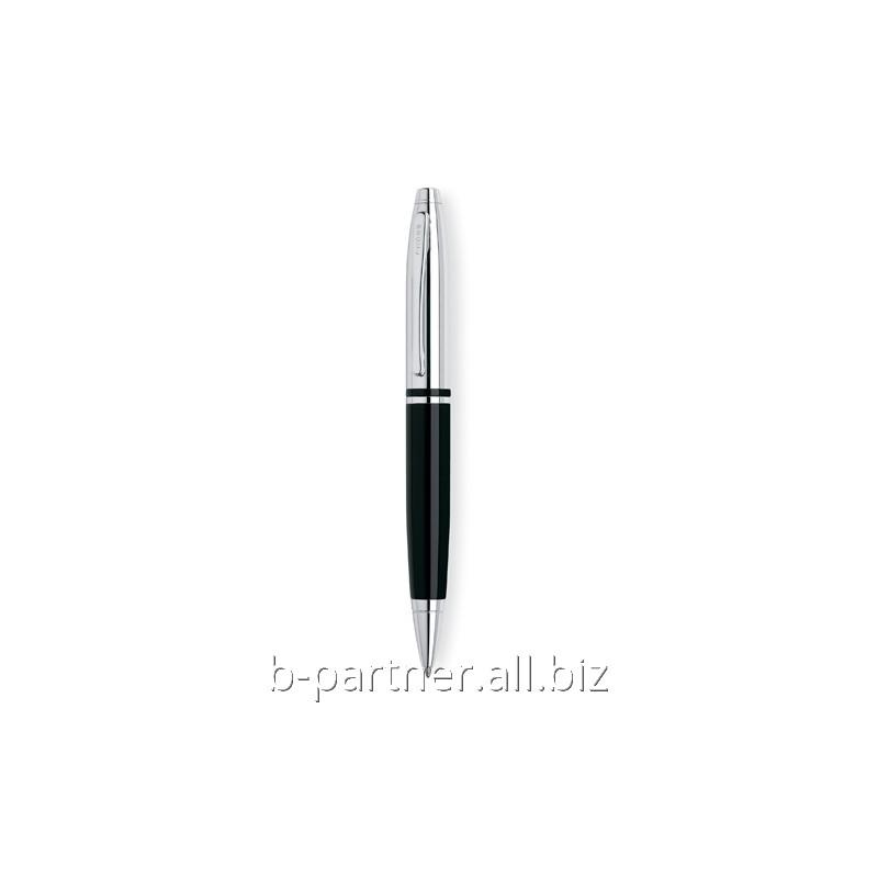 Ручка шариковая Calais Black Chrome BP