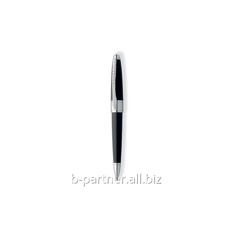 Ручка шариковая Apogee Black RT BP