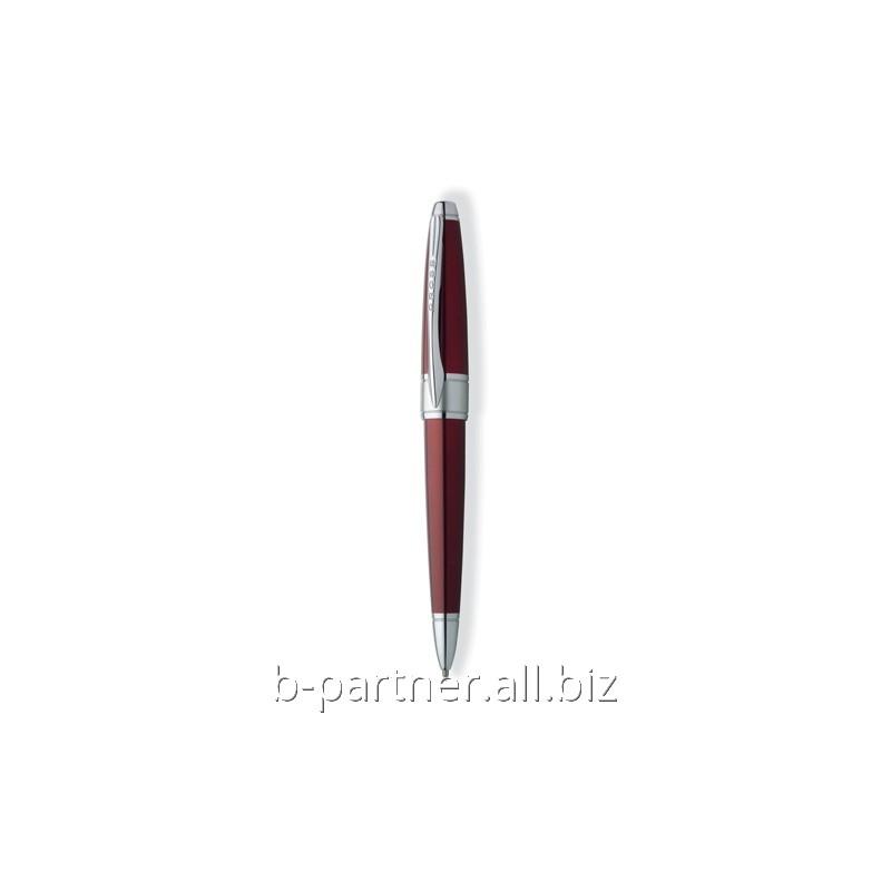 Ручка шариковая Apogee Red RT BP