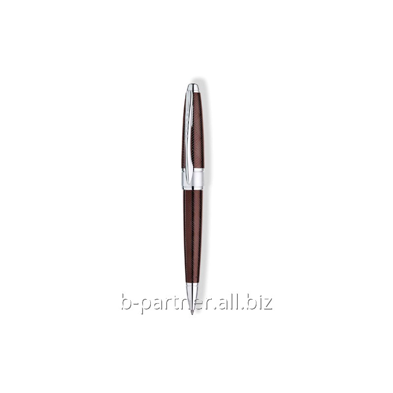 Ручка шариковая Apogee Sable Purple BP