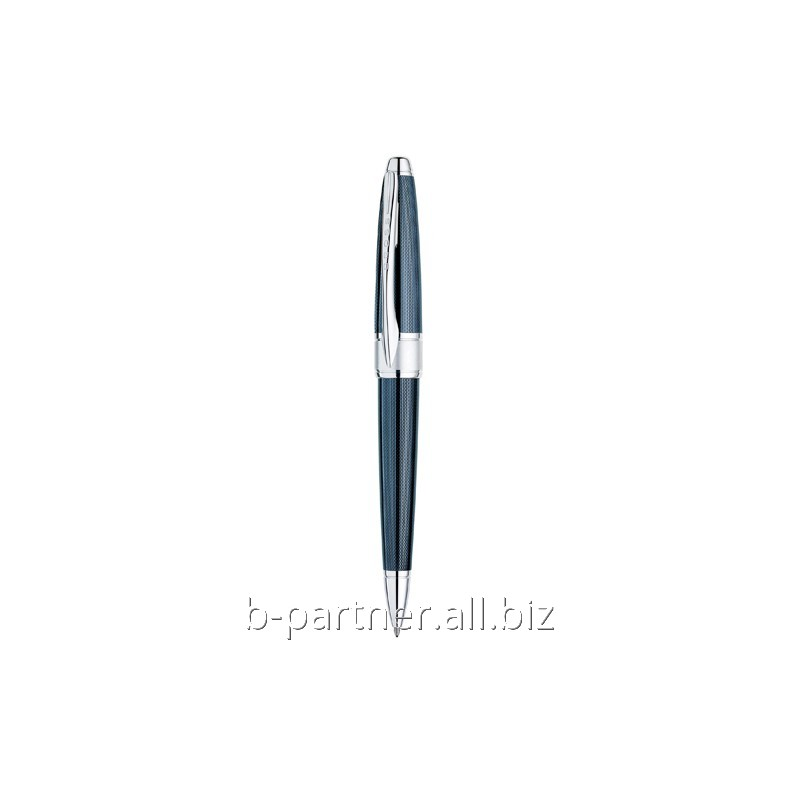 Ручка шариковая Apogee Frosty Steel Blue BP