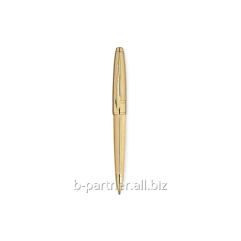 Ручка шариковая Apogee Executive 23K Heavy Gold Plate BP