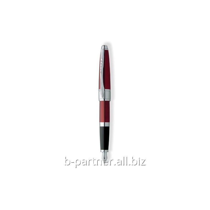 Ручка перьевая Apogee Red RT FP F