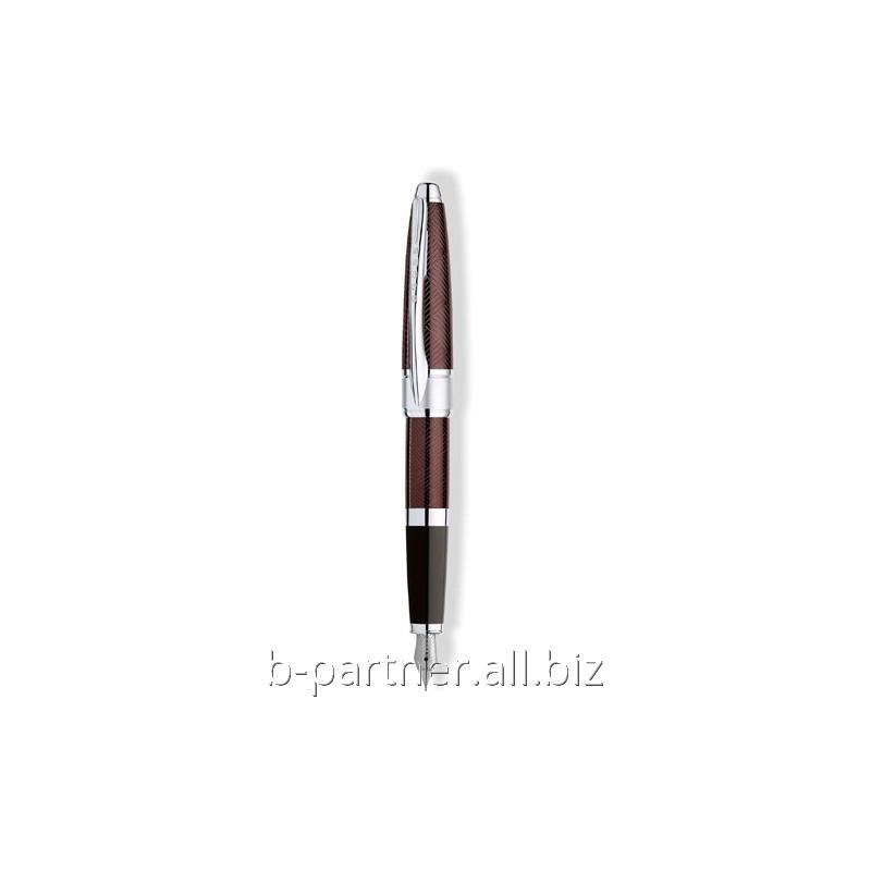Ручка перьевая Apogee Sable Purple FP F