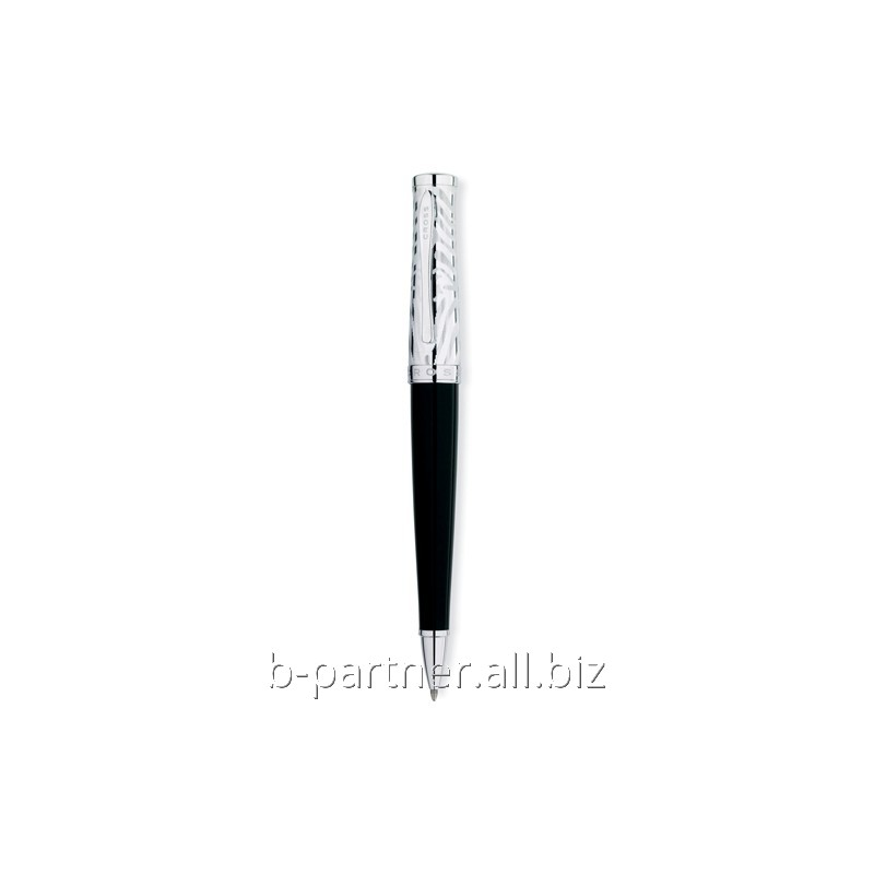 Ручка шариковая Sauvage Onyx/Zebra Pattern BP