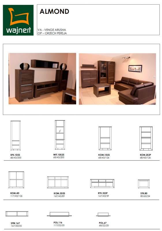 Купить мебель Киев. Новая модульная система ALMOND. Купить мебель Киев