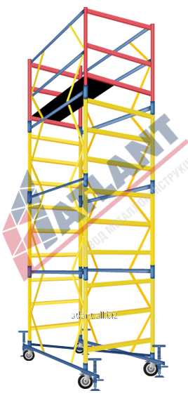Вышка - тура Атлант 2+1 1.7м x 0.8м