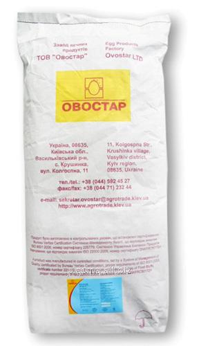 Купить Альбумин Украина, яичный белок (OVOSTAR)