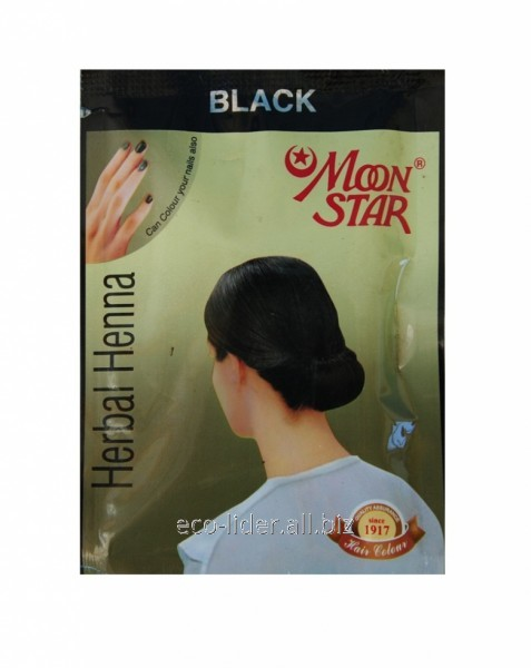 Natural Henna For Hair Of Moon Star Black 10 G Buy In Dnipro
