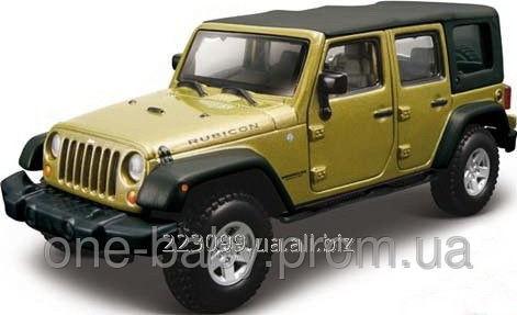 bburago jeep wrangler unlimited rubicon 18-43012 automodel buy in kiev