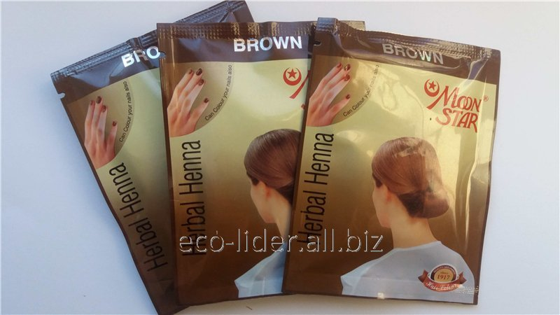 Natural Henna For Hair Of Moon Star Brown 10 G Buy In Dnipro