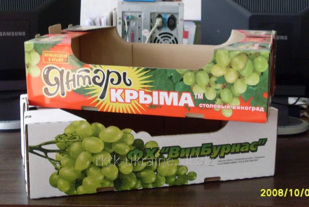 Упаковка для фруктов и овощей из гофрокартона