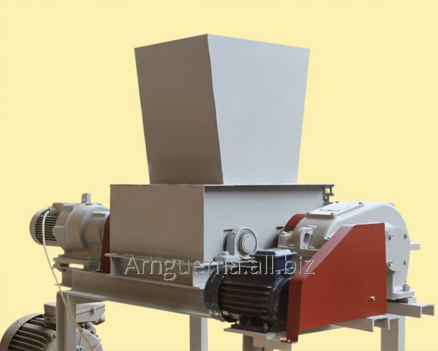 Купить Оборудование для производства целлюлозы: Дробилка-шредер для различных материалов; Дробилка универсальная