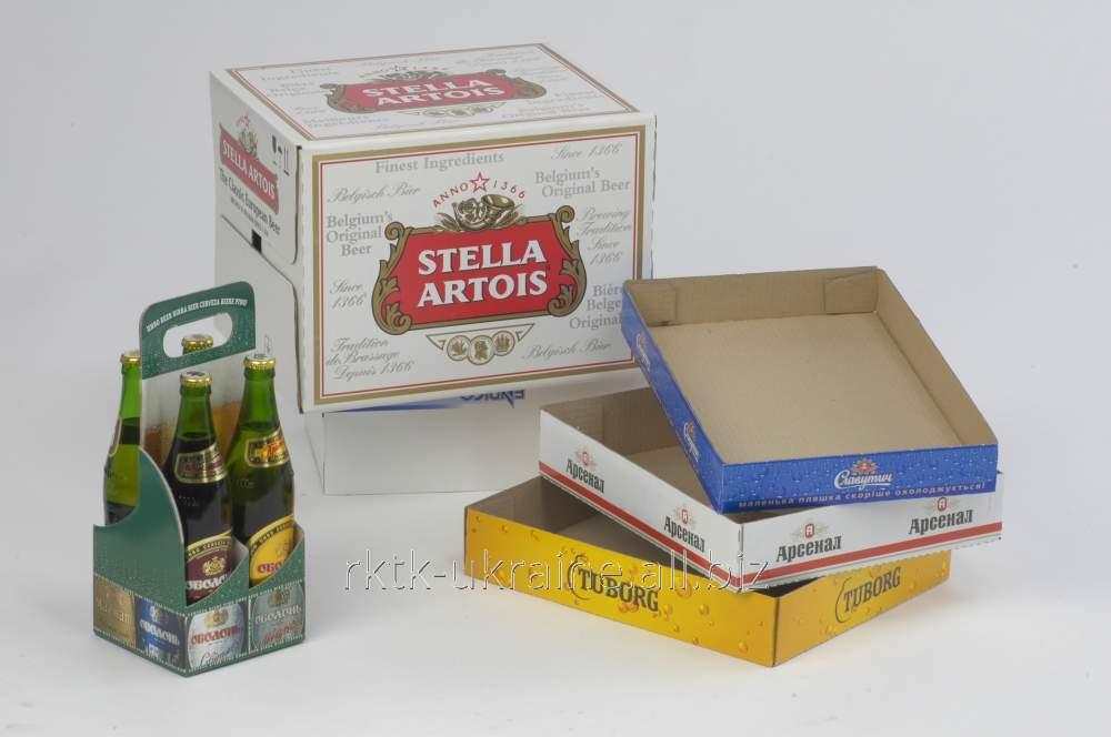 Фирменная упаковка для пива