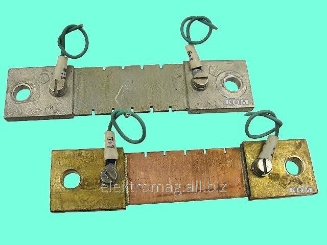 Шунт 75ШСМ-100Ампер, код товара 35719