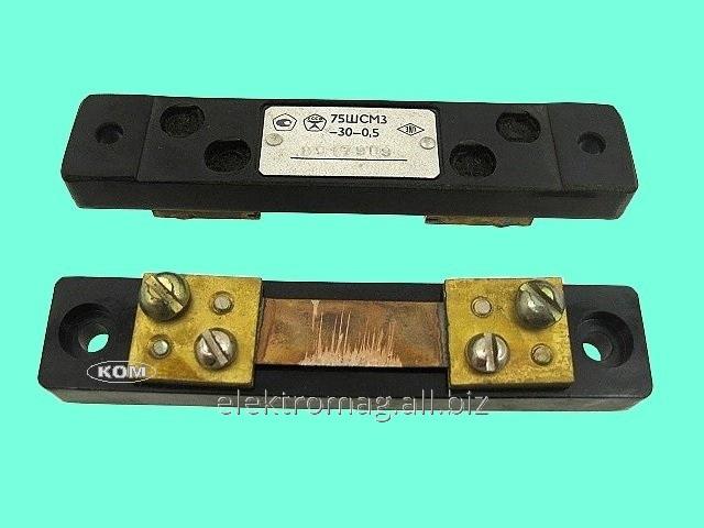 Шунт 75ШСММ3-30Ампер, код товара 33879