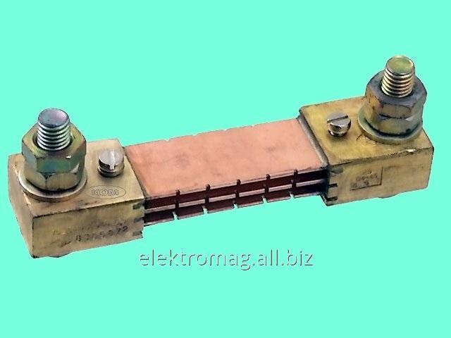 Шунт 75ШСММ3-300Ампер, код товара 33707