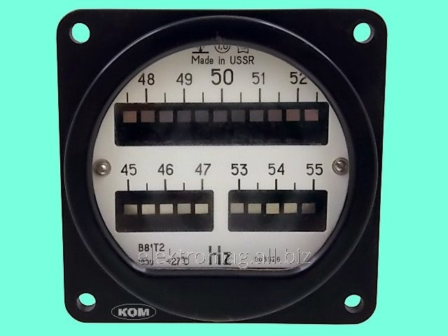 Hz frequency meter B81 45-55., product code 37140