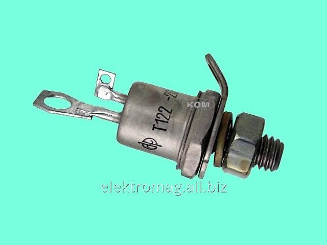 Тиристор штыревой Т122-20-10, код товара 34258
