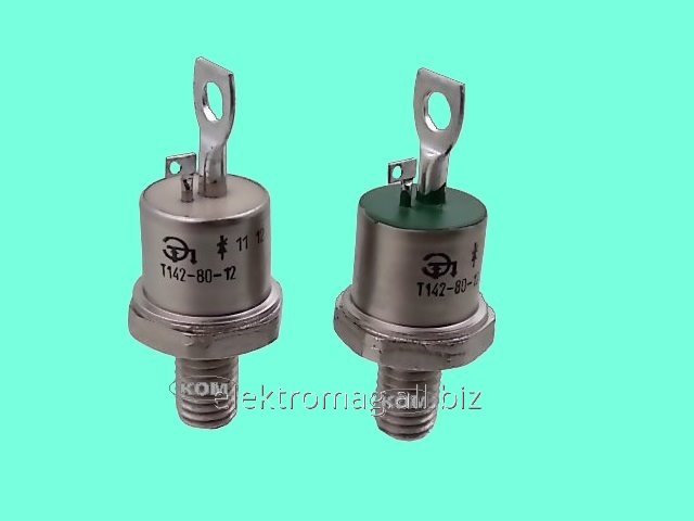 Тиристор штыревой ТЗА142-200-08, код товара 24359