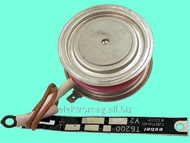 Тиристор хвостовой ТБ200-06, код товара 33627