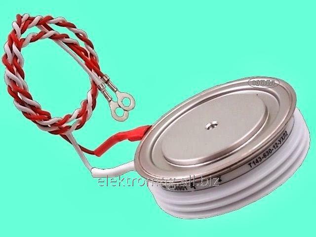 Тиристор таблеточный ТДЧ153-1000-06, код товара 23831