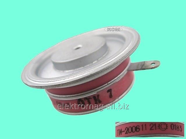 Тиристор таблеточный ТИ200-06, код товара 27493