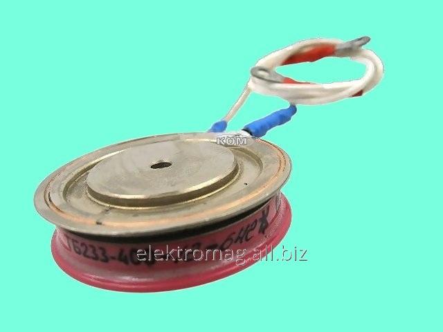 Купить Тиристор таблеточный ТБ233-400-12, код товара 29672