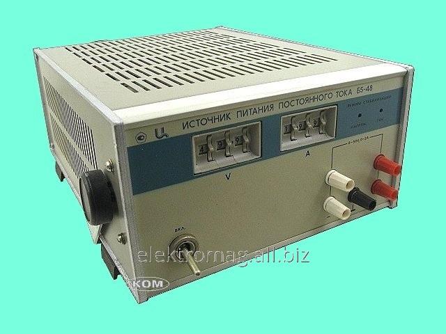 Купить Источник постоянного тока 0-50В/0-2А Б5-48, код товара 33940