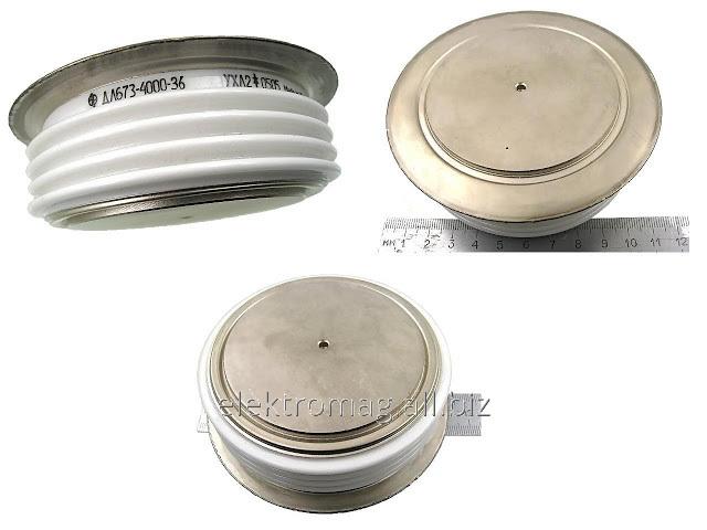 Comprar El diodo tabletochnyy ДЛ673-4000-36, el código de la mercancía 28680