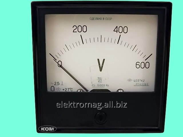 Buy Ts33 voltmeter, product code 37202