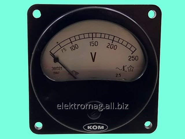 Buy The E8021 voltmeter - 0-250 V, a product code 38450