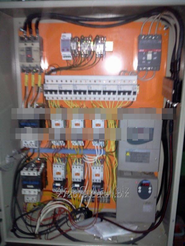 Шкаф управления (электрощит) линия гранулирования