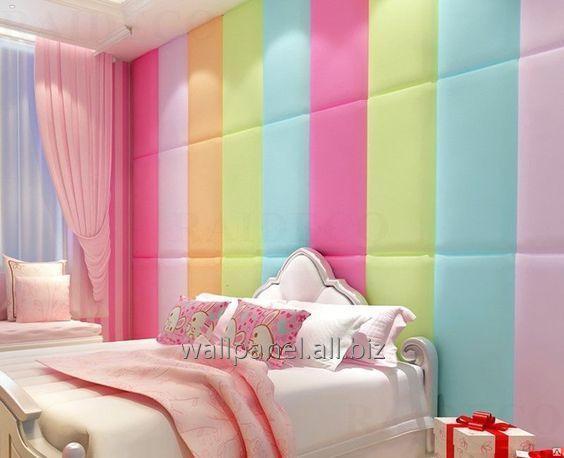 Мягкие панели для детской комнаты