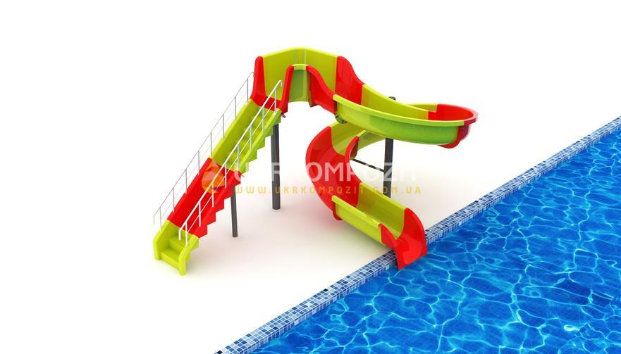 Waterslide of Ukrkompozit Mai of MI-S-3.1