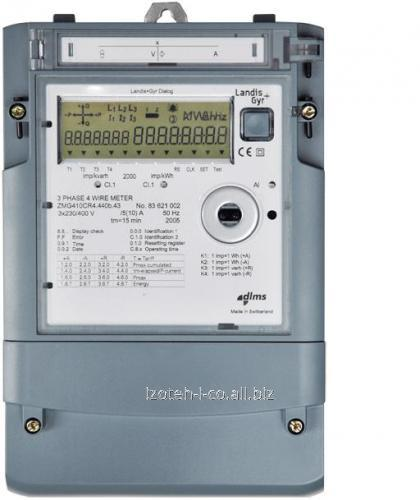 Трехфазный многотарифный электросчетчик ZMG 410 CR 4.440b.43 (100V)