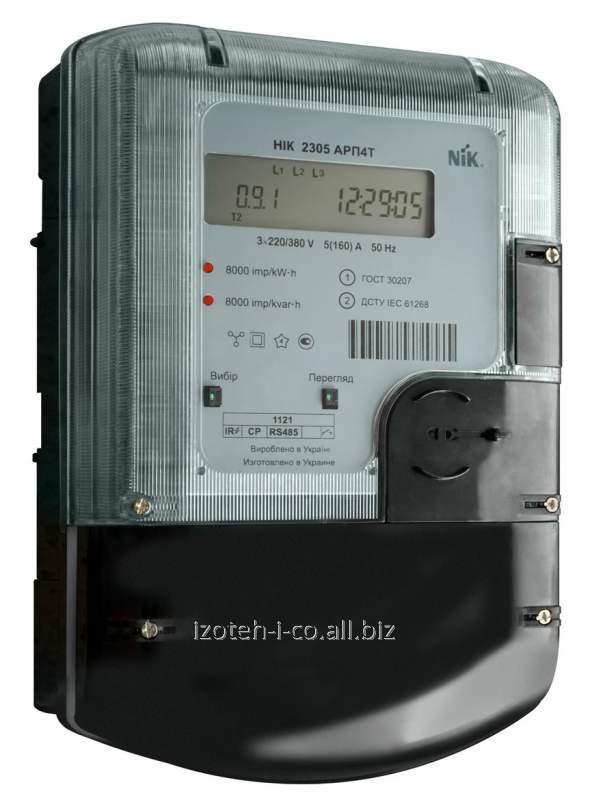 Счетчик трехфазный электронный электрической энергии НIК 2305