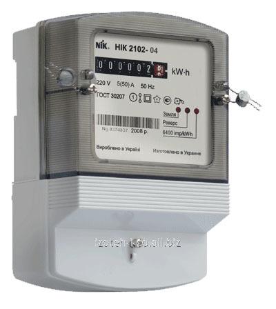 Однофазный счетчик электрической энергии НІК 2102