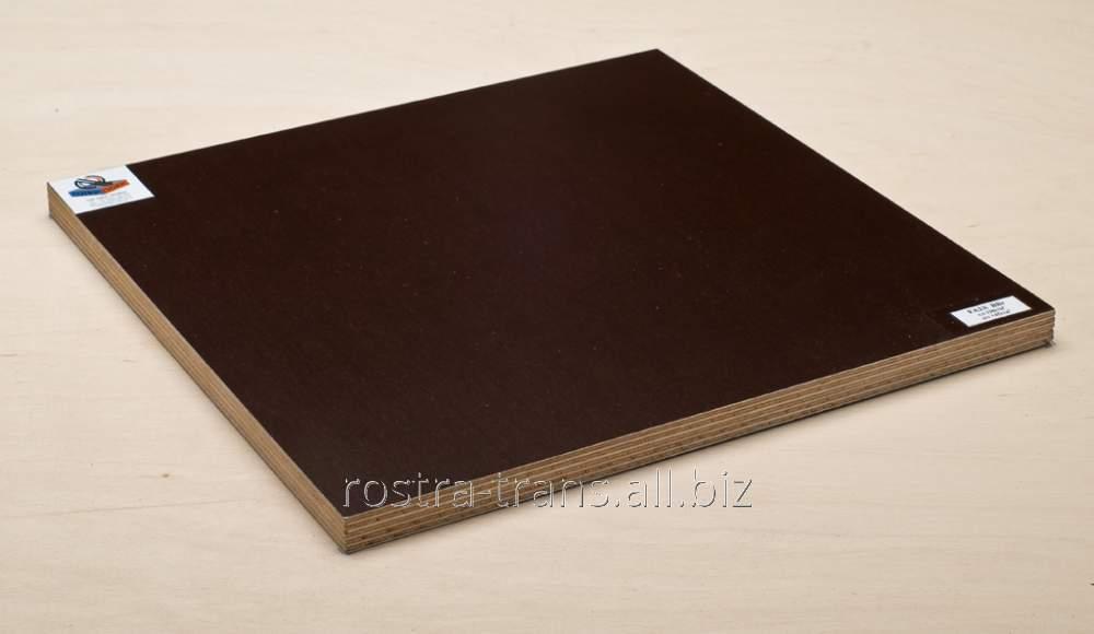 Ламинированная фанера Lam FA2X BBr gl-120 sit-145g т.вишня гладкая