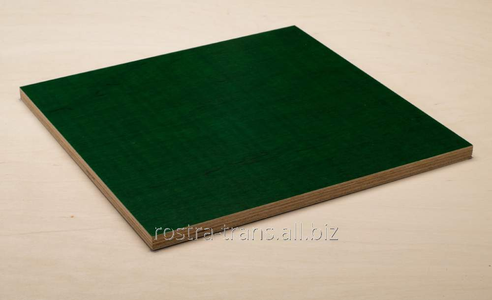 Ламинированная фанера Lam TG-1262 40-120g зеленая