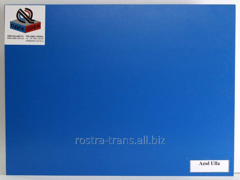 Фанера цветная декоративная ODEK-Blue