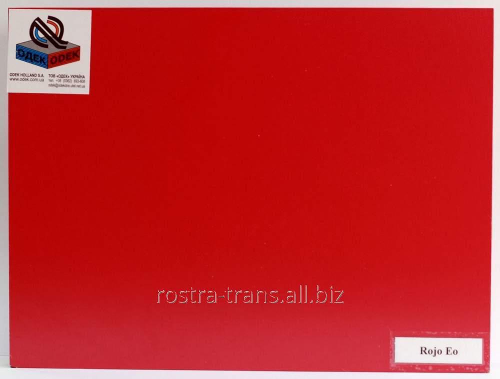 Фанера цветная декоративная ODEK-Red
